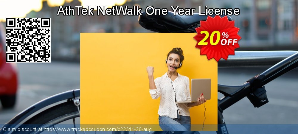 Get 20% OFF AthTek NetWalk One Year License offering sales