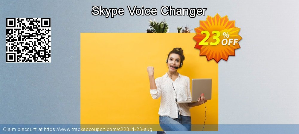 Skype Voice Changer coupon on Halloween offering discount