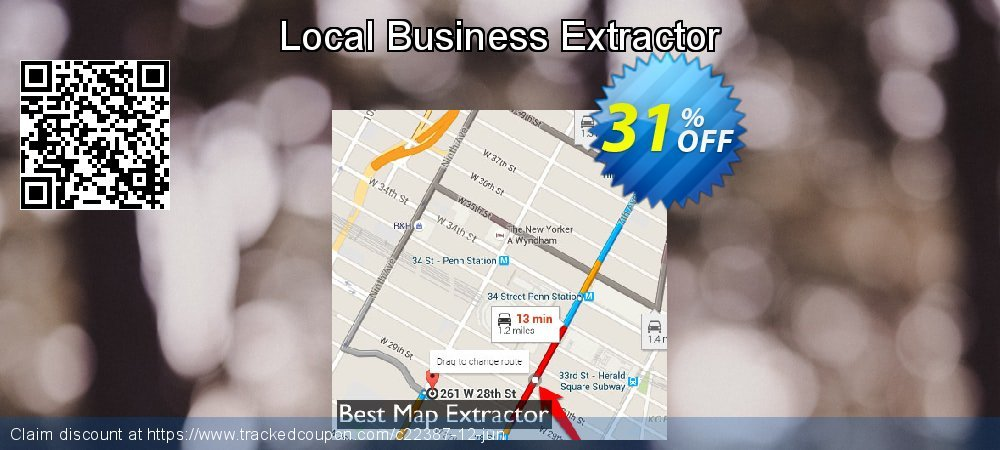 Get 31% OFF Local Business Extractor offering discount