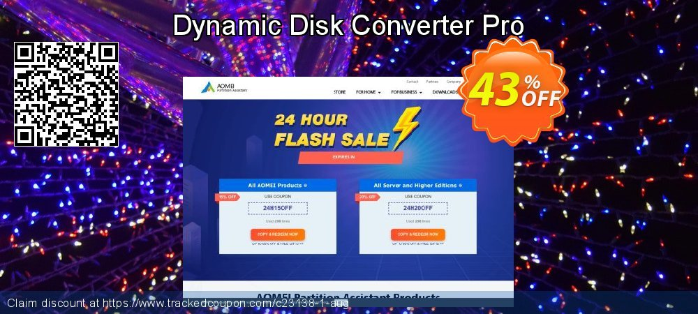 Dynamic Disk Converter Pro coupon on Easter Sunday offer