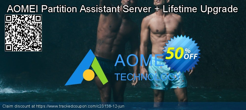 AOMEI Partition Assistant Server + Lifetime Upgrade coupon on Back-to-School event sales