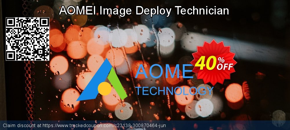 AOMEI Image Deploy Technician coupon on 4th of July sales