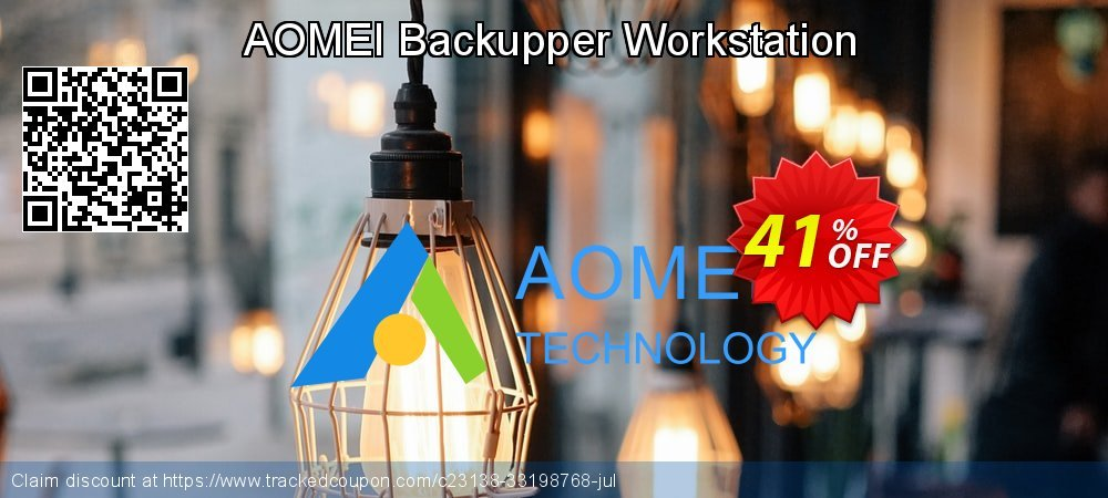 AOMEI Backupper Workstation coupon on New Year discounts