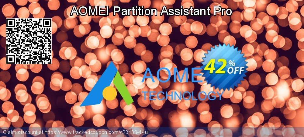AOMEI Partition Assistant Pro coupon on New Year offer