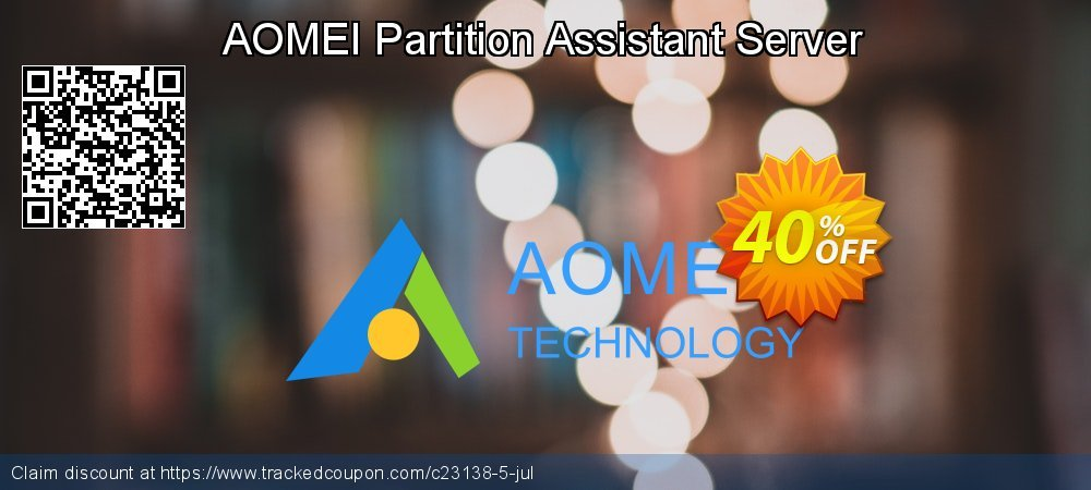 AOMEI Partition Assistant Server coupon on Halloween discount