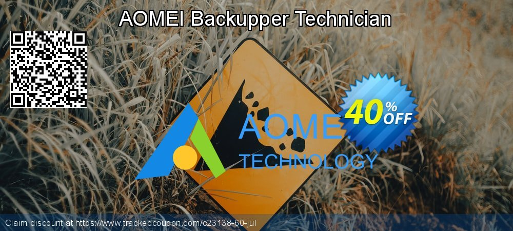 AOMEI Backupper Technician coupon on April Fool's Day discounts