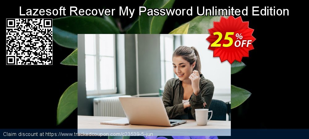 Claim 25% OFF Lazesoft Recover My Password Unlimited Edition Coupon discount March, 2019