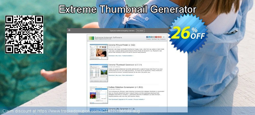 Get 25% OFF Extreme Thumbnail Generator offering deals