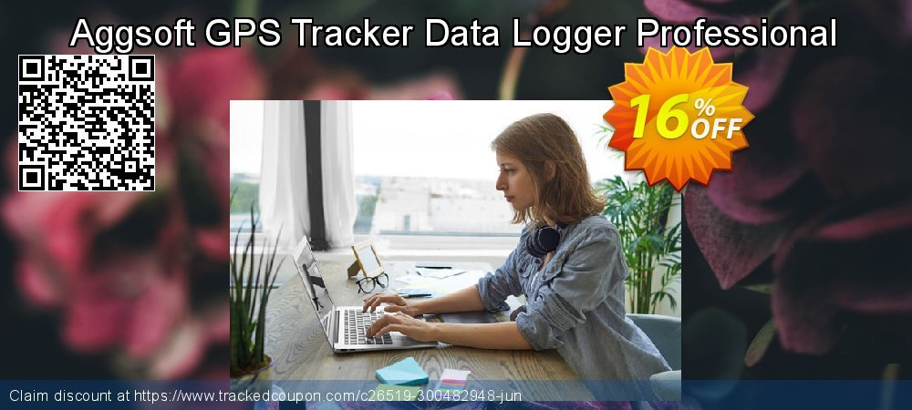 Get 16% OFF Aggsoft GPS Tracker Data Logger Professional offering sales