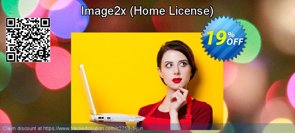 Image2x - Home License  coupon on New Year's Day deals