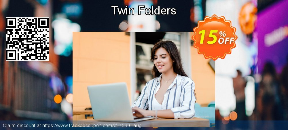 Twin Folders coupon on Back to School deals offer