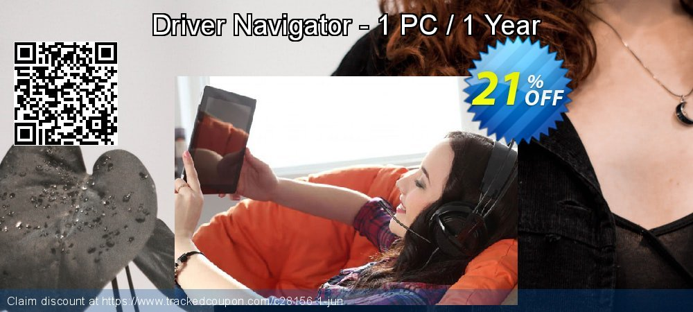 Get 50% OFF Driver Navigator - 1 PC / 1 Year offering discount