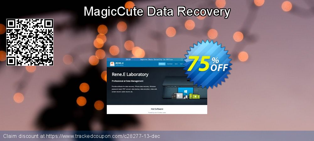 Get 30% OFF MagicCute Data Recovery 2012 1-Year Key EN offering discount