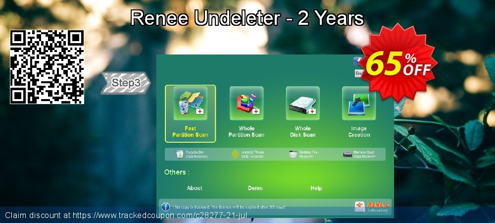 Claim 65% OFF Renee Undeleter - 2 Years Coupon discount November, 2019