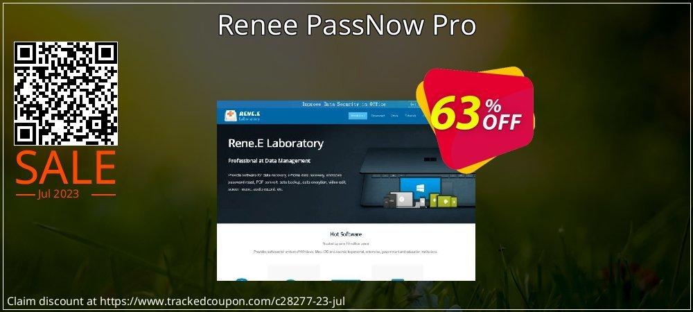 Get 63% OFF Renee PassNow Pro discounts