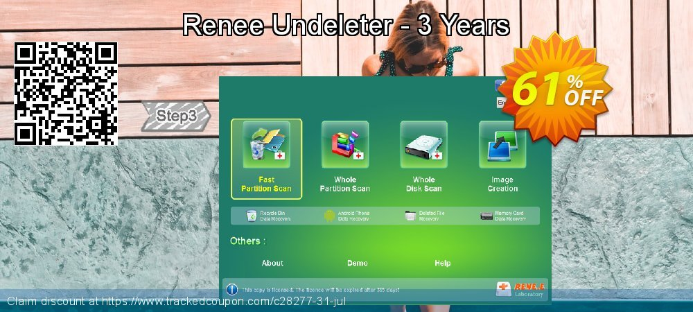 Claim 61% OFF Renee Undeleter - 3 Years Coupon discount November, 2019