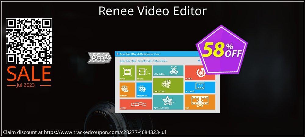 Renee Video Editor coupon on Exclusive Teacher discount sales