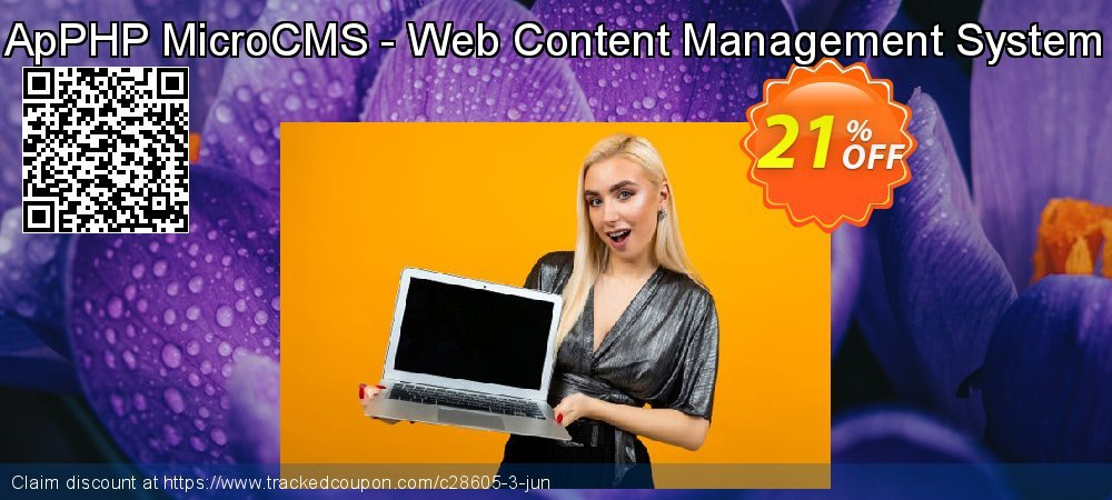 Get 20% OFF ApPHP MicroCMS - Web Content Management System offering sales
