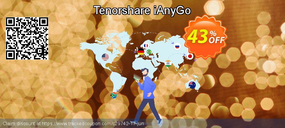 Tenorshare iAnyGo coupon on World Smile Day offering discount