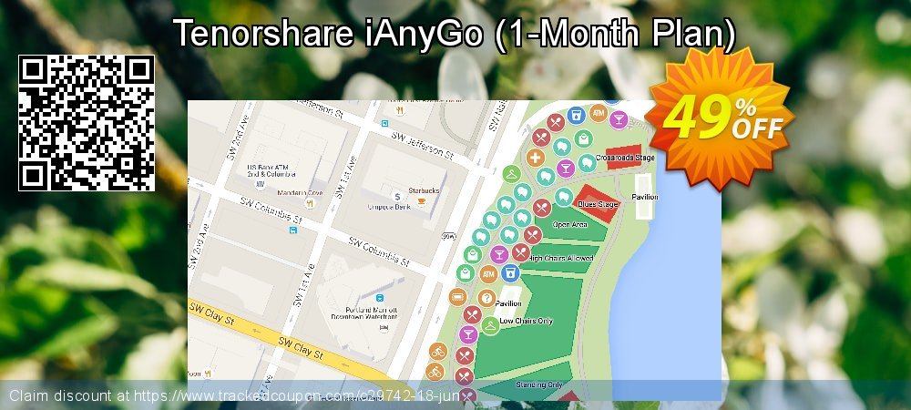 Tenorshare iAnyGo - 1-Month Plan  coupon on Halloween offering sales