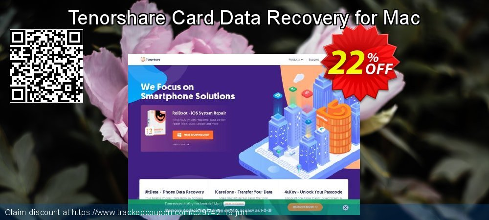 Claim 19% OFF Tenorshare Card Data Recovery for Mac Coupon discount October, 2019