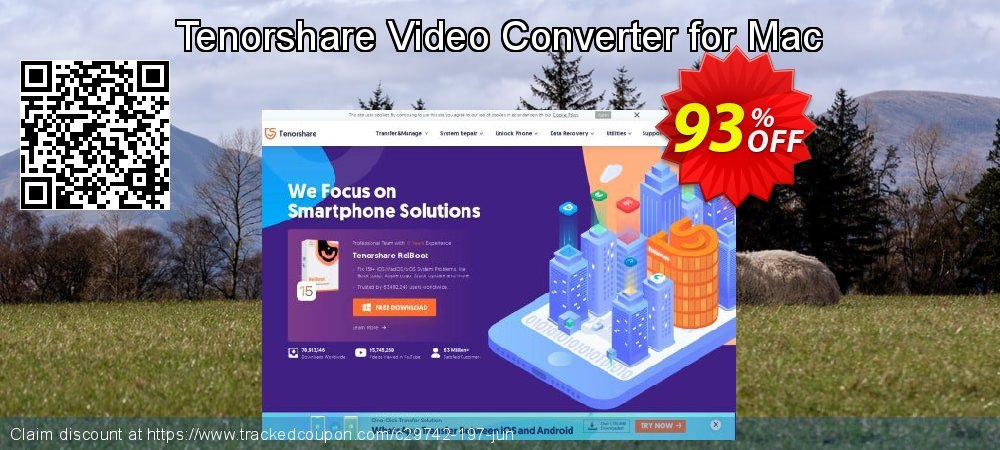 Tenorshare Video Converter for Mac coupon on National Pumpkin Day offering discount