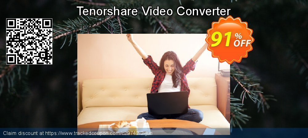 Tenorshare Video Converter coupon on Happy New Year discounts