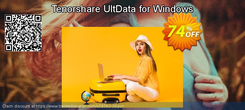 Claim 74% OFF Tenorshare UltData for Windows Coupon discount June, 2020