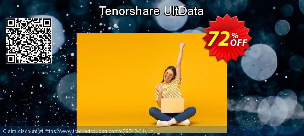 Claim 72% OFF Tenorshare UltData Coupon discount August, 2020