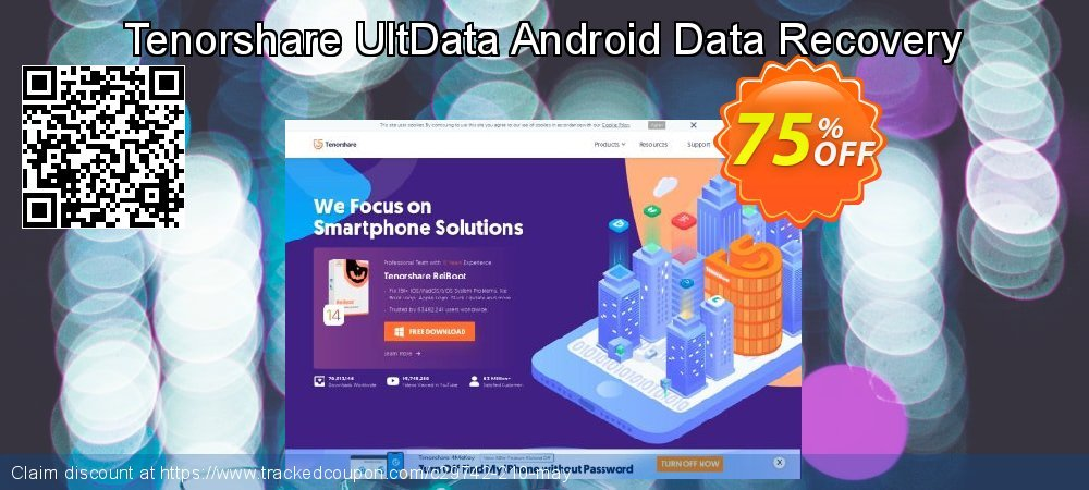 Tenorshare UltData Android Data Recovery coupon on Halloween promotions