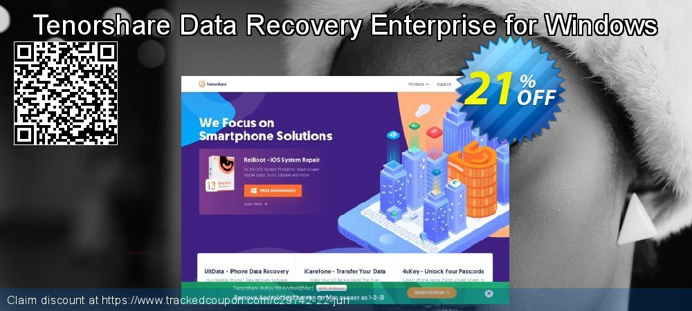 Claim 19% OFF Tenorshare Data Recovery Enterprise for Windows Coupon discount October, 2019