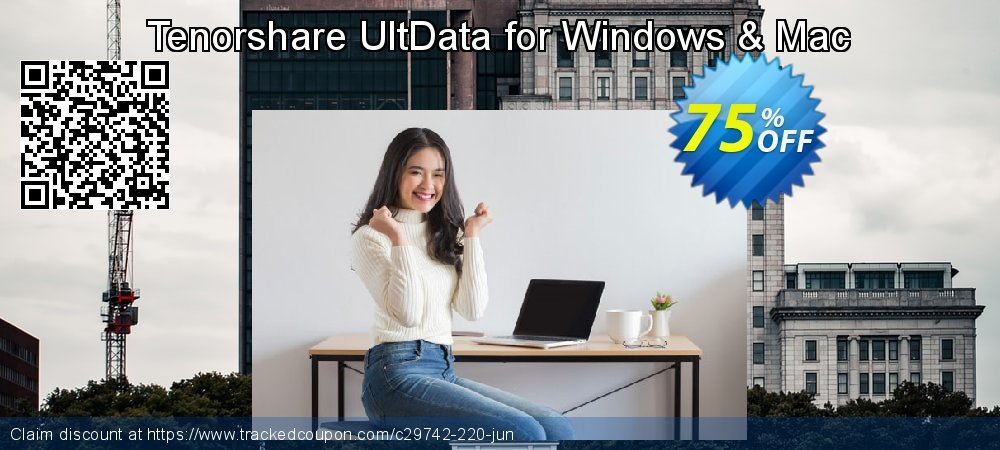 Claim 75% OFF Tenorshare UltData for Windows Coupon discount May, 2020