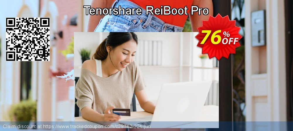 Claim 76% OFF Tenorshare ReiBoot Pro Coupon discount October, 2020