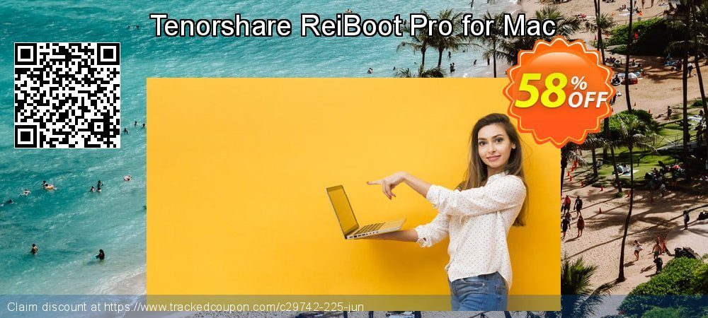 Claim 58% OFF Tenorshare ReiBoot Pro for Mac Coupon discount June, 2020