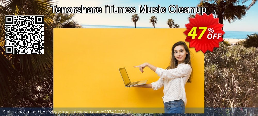 Tenorshare iTunes Music Cleanup coupon on National Pumpkin Day deals
