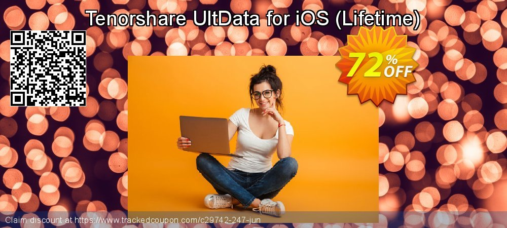 Get 30% OFF Tenorshare Ultdata for iOS (Windows) - Lifetime/1-5 Devices offering sales