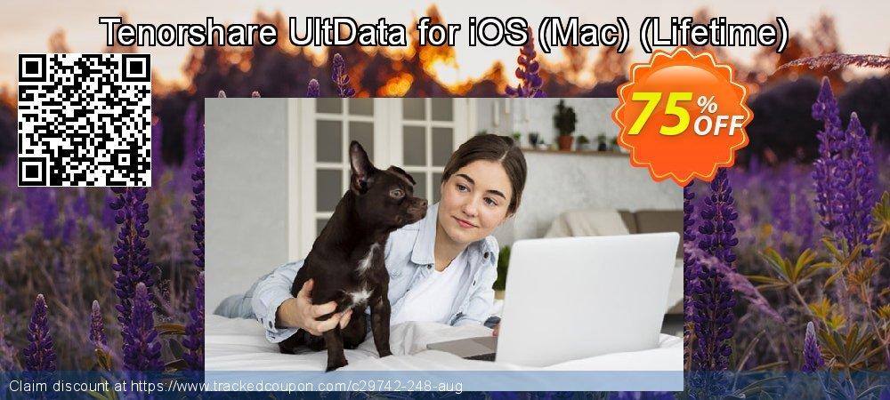 Claim 75% OFF Tenorshare UltData for iOS - Mac - Lifetime Coupon discount January, 2020