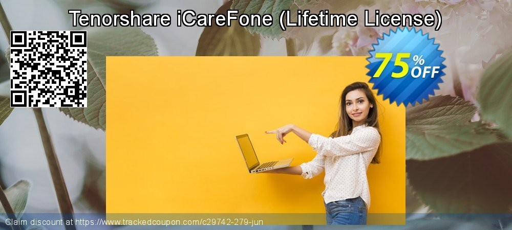 Tenorshare iCareFone - Lifetime License  coupon on Back to School shopping discount