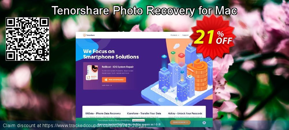 Claim 10% OFF Tenorshare Photo Recovery for Mac Coupon discount June, 2019