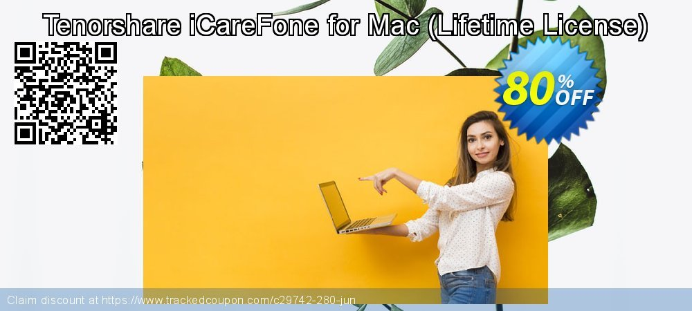 Tenorshare iCareFone for Mac - Lifetime License  coupon on World Teachers' Day super sale