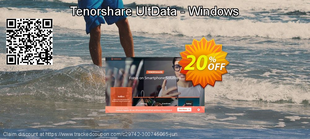 Tenorshare UltData Windows Data Recovery coupon on Back to School coupons discounts