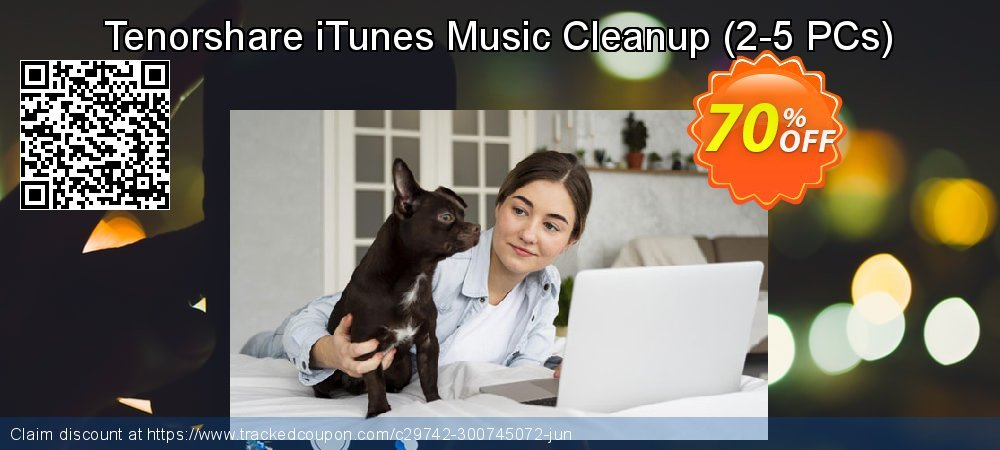 Tenorshare iTunes Music Cleanup - 2-5 PCs  coupon on Halloween super sale