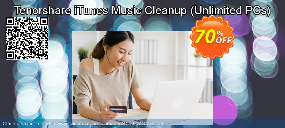 Tenorshare iTunes Music Cleanup - Unlimited PCs  coupon on Halloween discounts