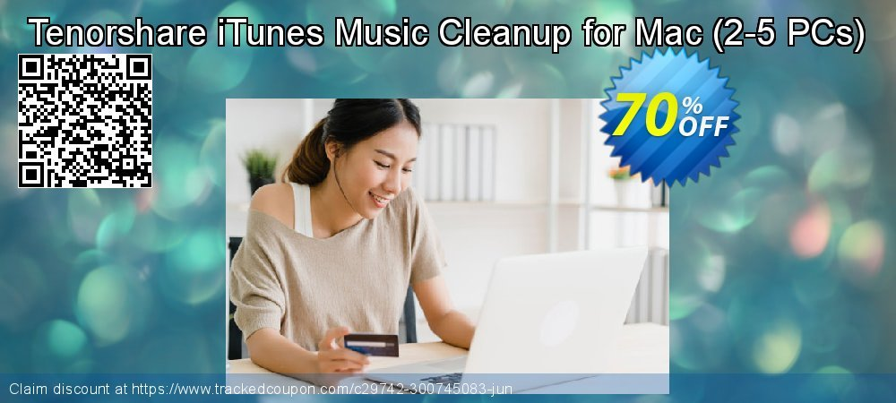 Tenorshare iTunes Music Cleanup for Mac - 2-5 PCs  coupon on Back to School season discounts