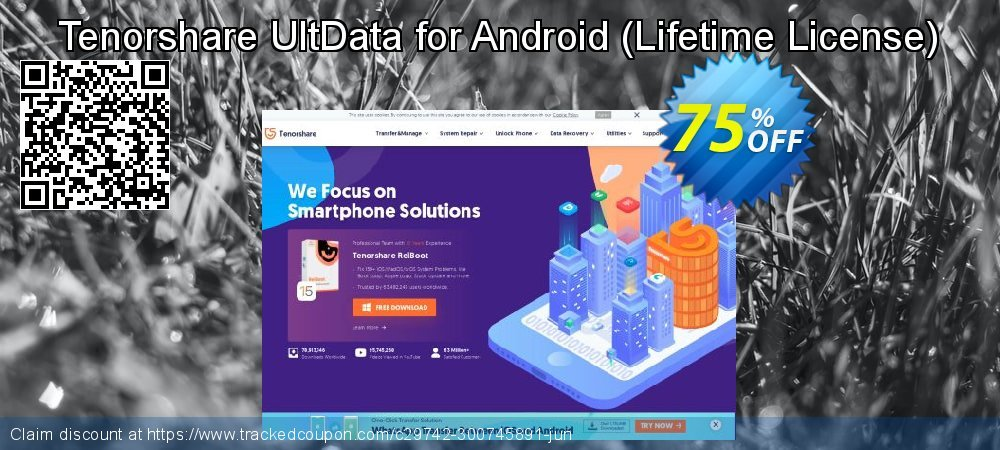 Get 67% OFF Tenorshare UltData for Android Pro Lifetime offer