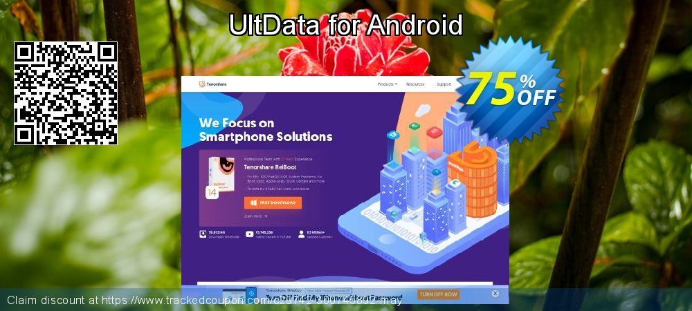 Claim 75% OFF UltData for Android Coupon discount June, 2020
