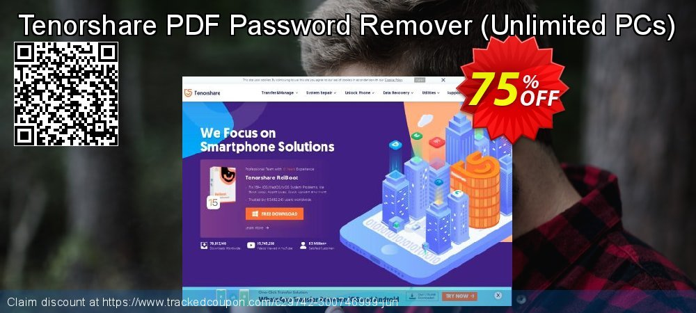 Tenorshare PDF Password Remover - Unlimited PCs  coupon on Halloween discounts