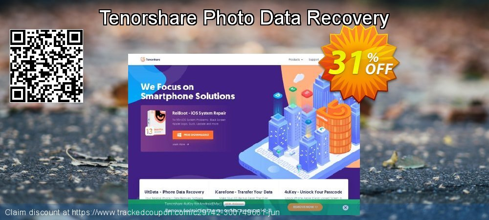 Get 20% OFF Tenorshare Photo Data Recovery promo