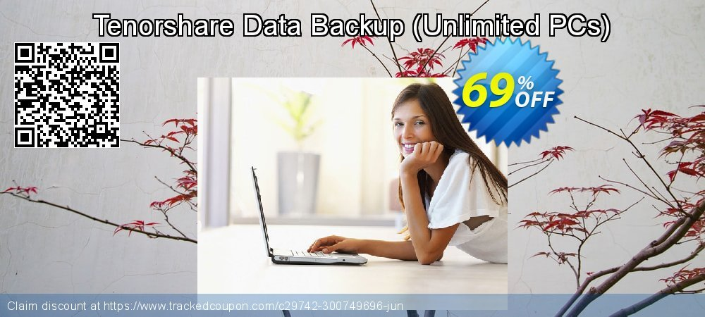 Get 20% OFF Tenorshare Data Backup-Unlimited PCs offering deals