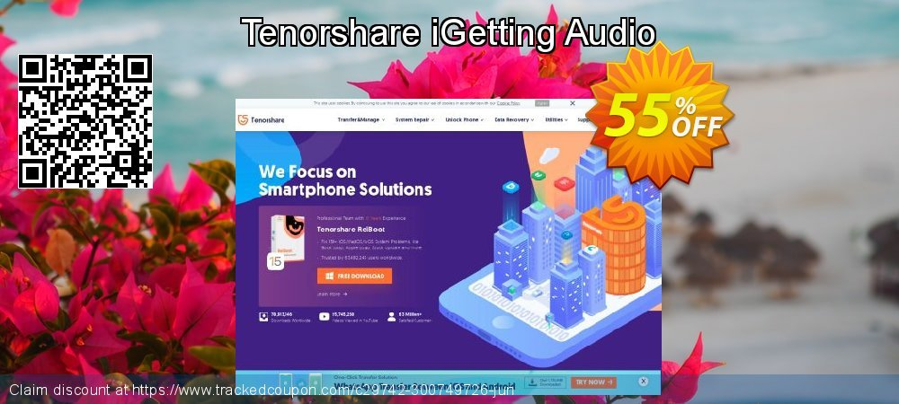 Tenorshare iGetting Audio coupon on World Smile Day discounts
